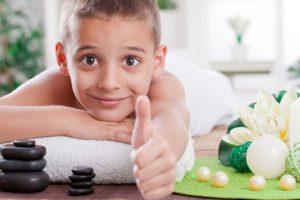 Le massage enfant, un luxe?