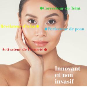 Le soin par la lumière Leds anti-acné